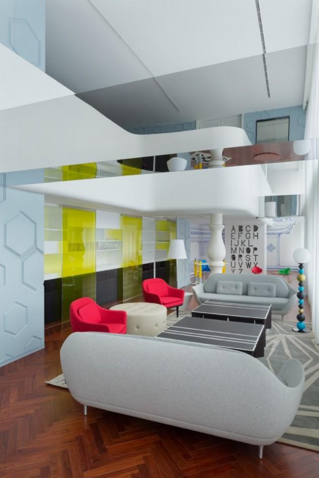 Beijning fantasy appartement Dariel Studio woonkamer