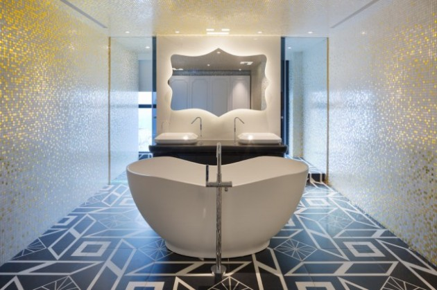 Dariel Studio Beijing apartment badkamer