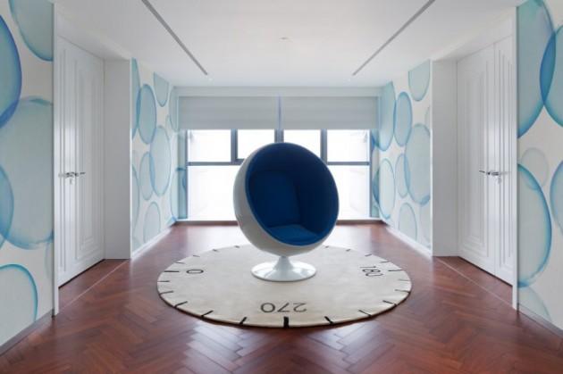 Dariel Studio Beijing appartement blauw