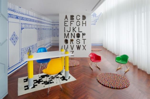 Dariel studio Beijing fantasie appartement kleur