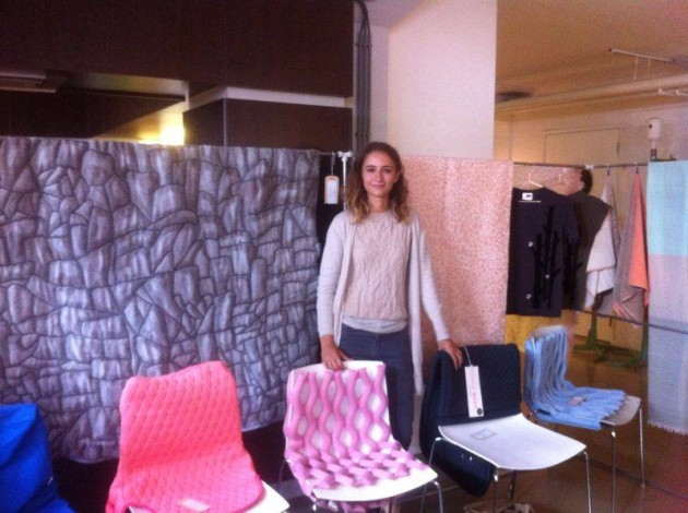 Gimmii Dutch Design Days Nienke Hoogvliet Hide dekens Chair wear Bernotat&Co