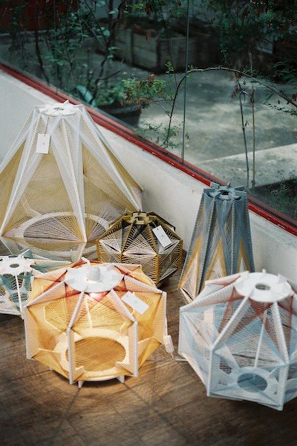 Julie Lansom Sputnik lamps