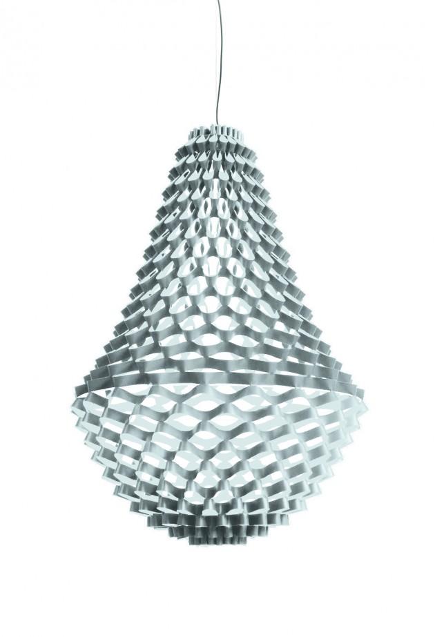 Crown zilveren design kroonluchter van JSPR