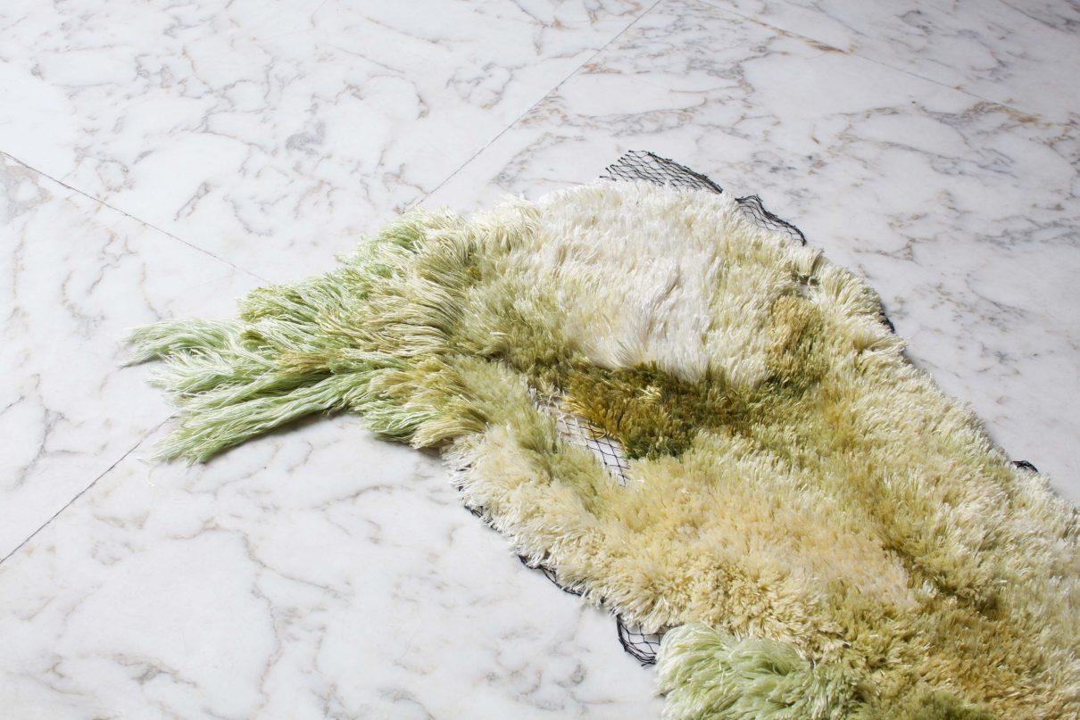 Sea Me vloerkleed geknoopt van zeealgen garen