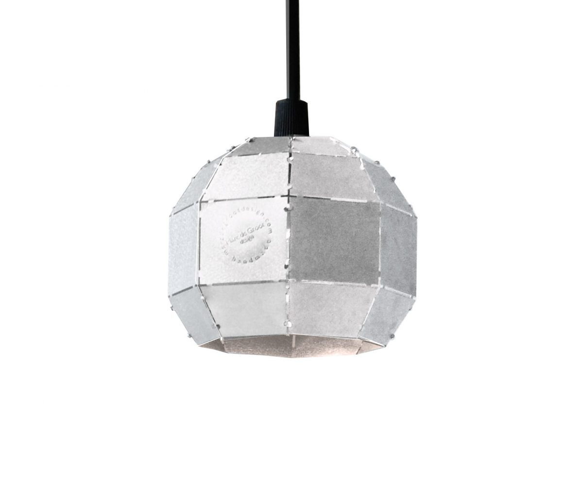 Booom hanglamp aluminium