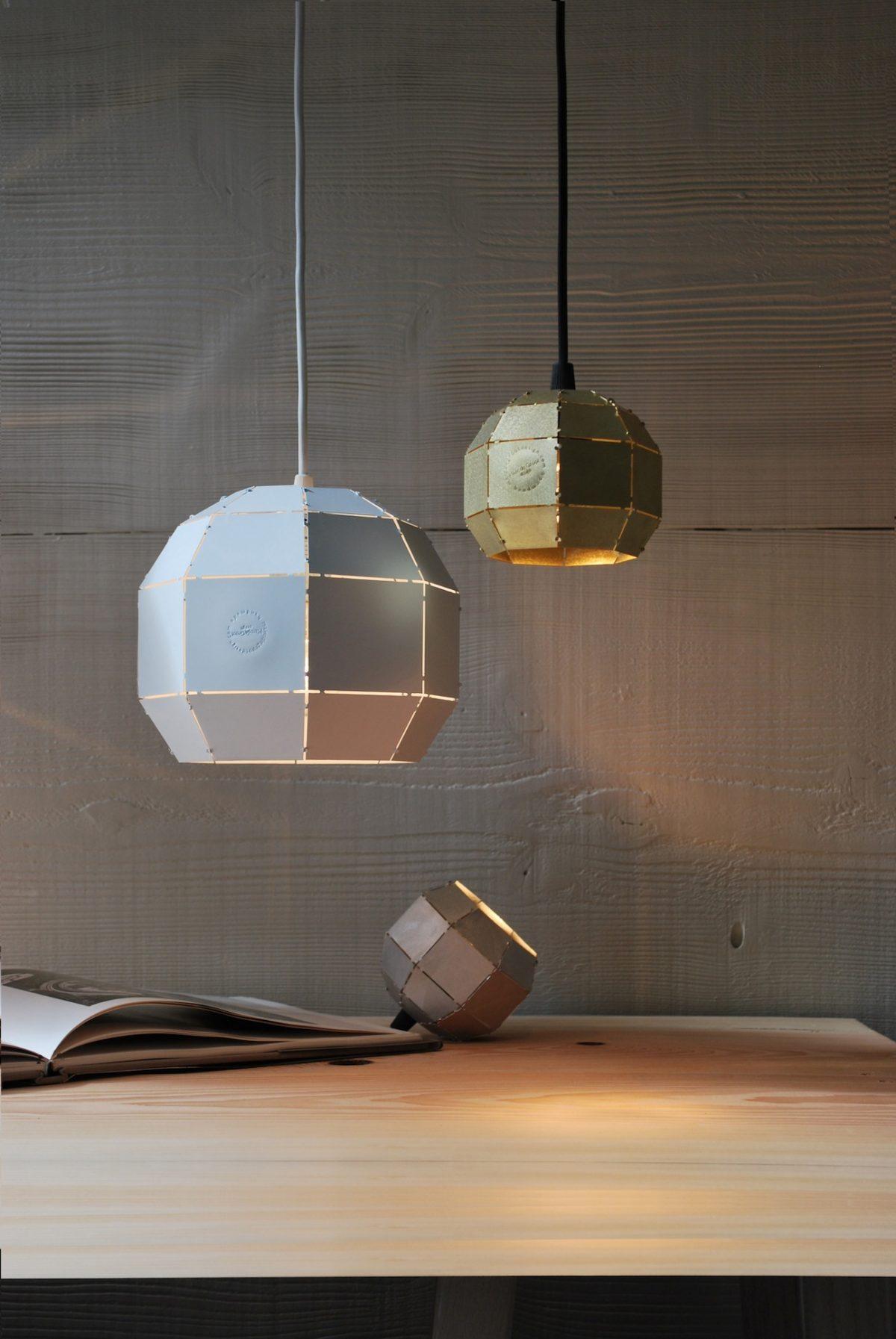 Booom lampen van Marc de Groot
