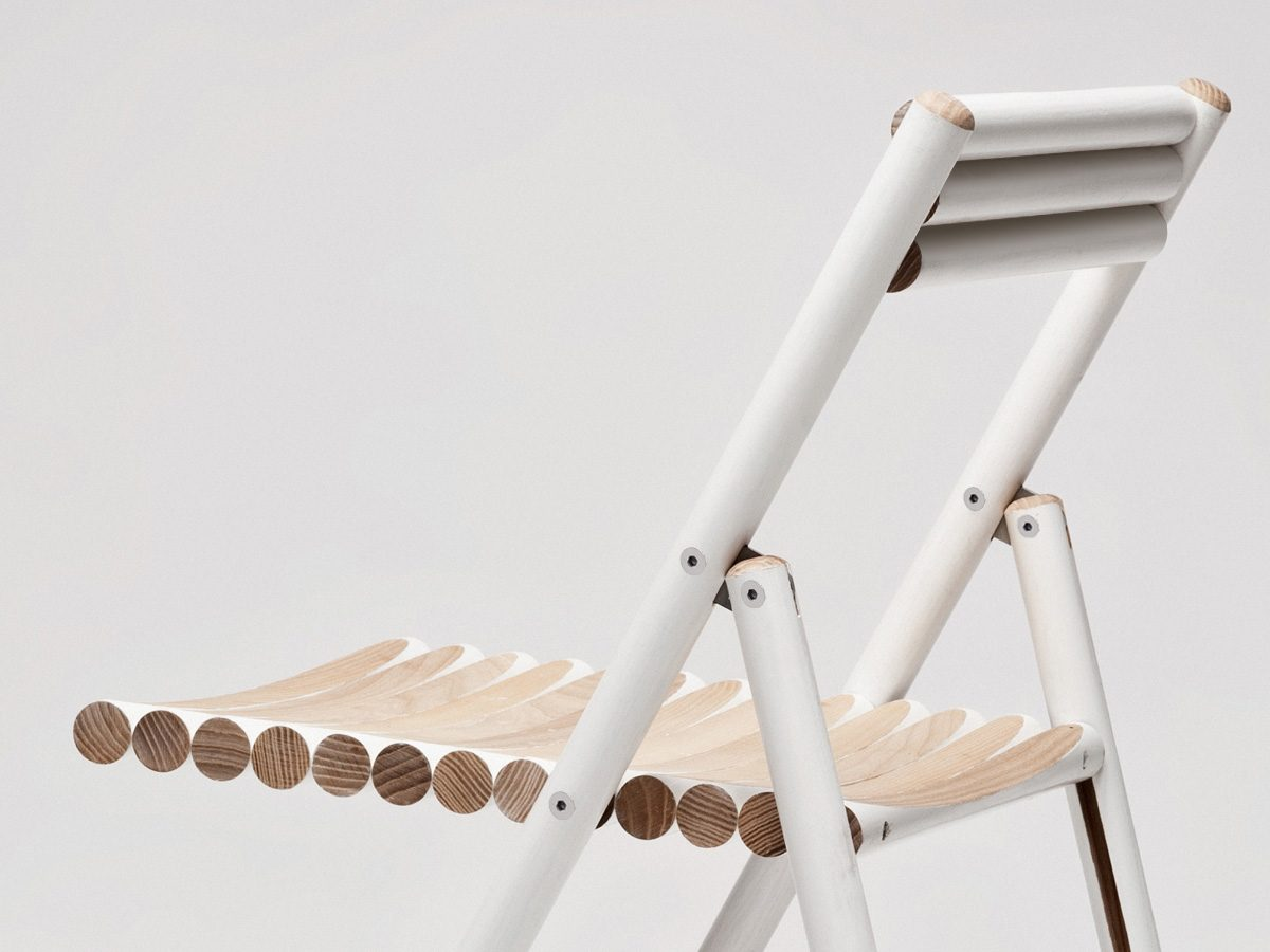 Dutch Design Week 2014 – Steel klapstoel van Reinier de Jong