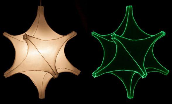 Radiolaria hanglamp –  Astrosphera spicula