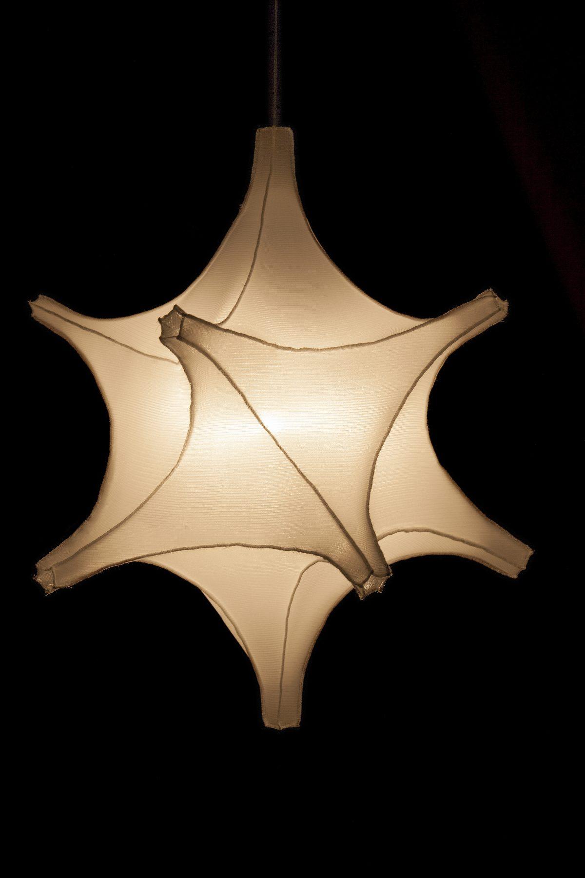 radiolaria Astrosphera specula bernotat hanglamp aan