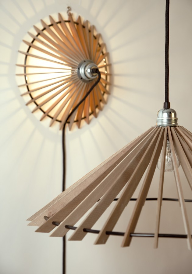 BEAM wandlamp hanglamp van Josje Schut
