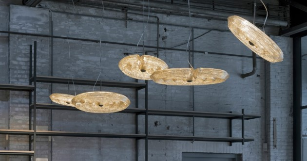 Fresnel Pendant Lights 45cm and 60cm Dirk Vander Kooij Photo Ruud Balk DDW