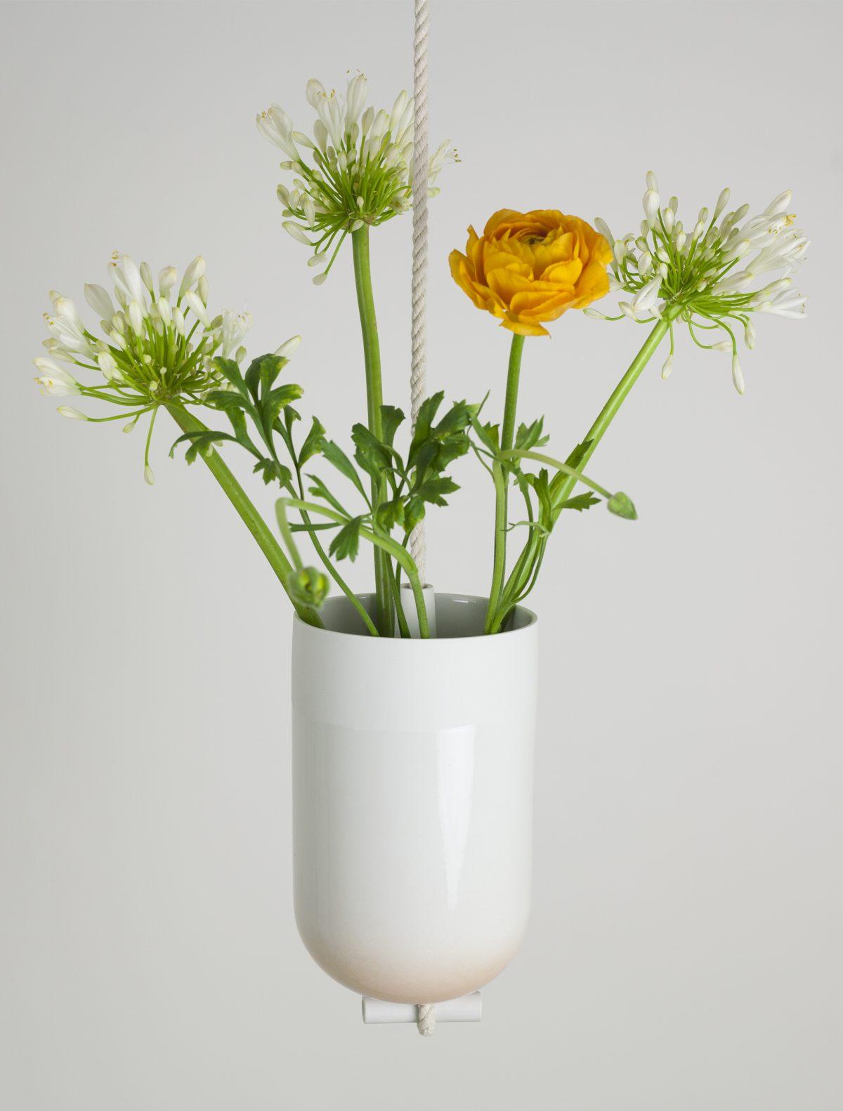 Spatial vase peach Lotte Douwes -gimmiishop