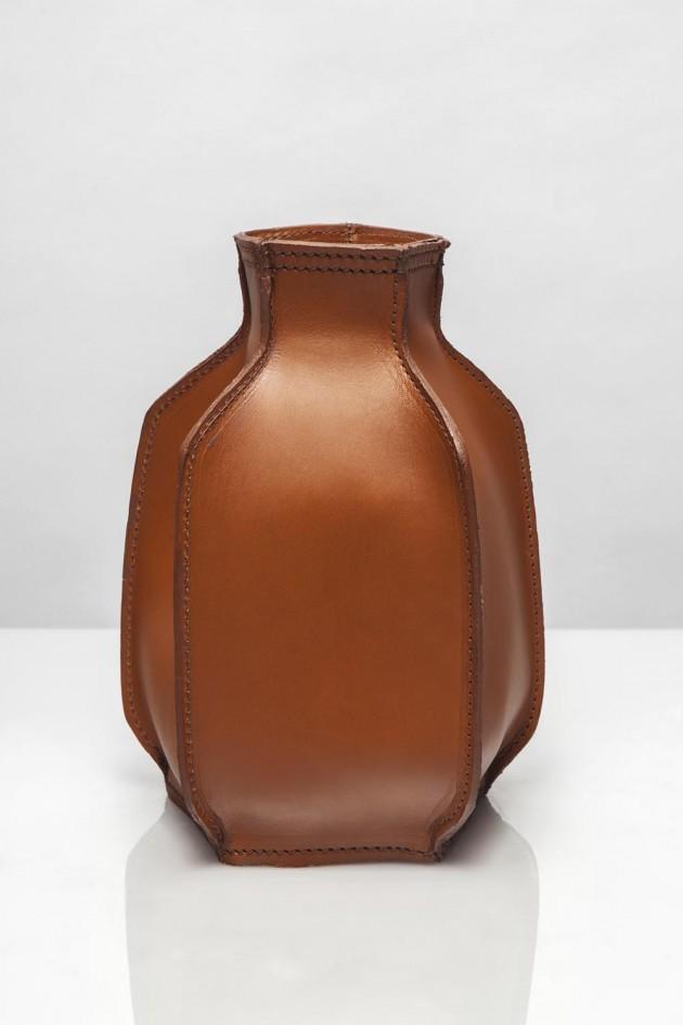 Studio Roex Plumbers Piece vaas cognac small
