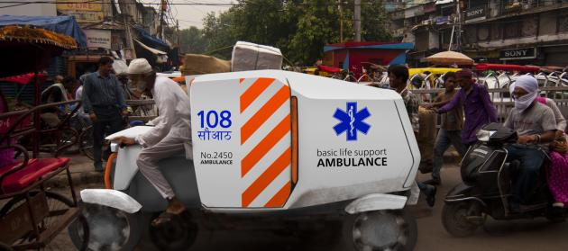ambulance 108 - Pascal de Boer