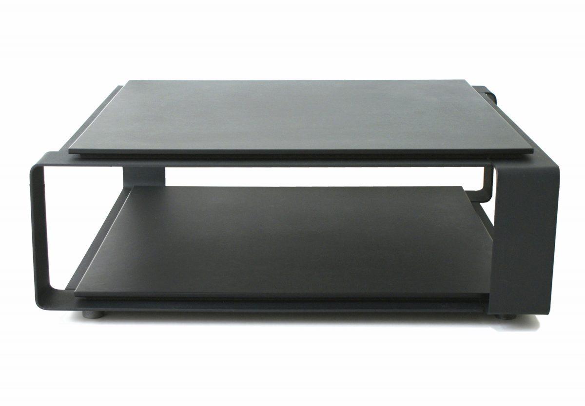 Gispen Bendit luxe salontafel, ontwerper Peter van de Water