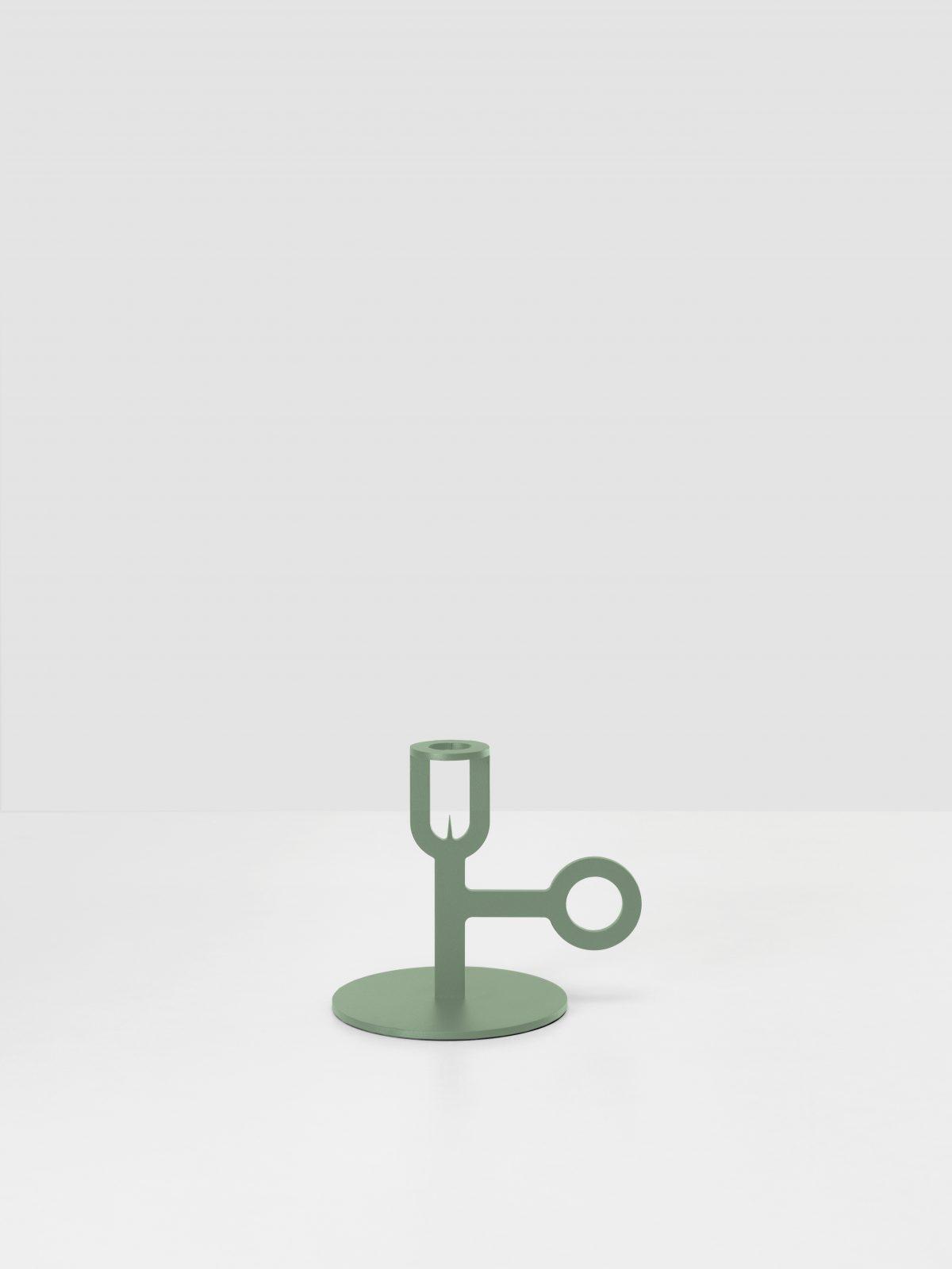 Kandelaar Carry On groen New Duivendrecht Peter van de Water