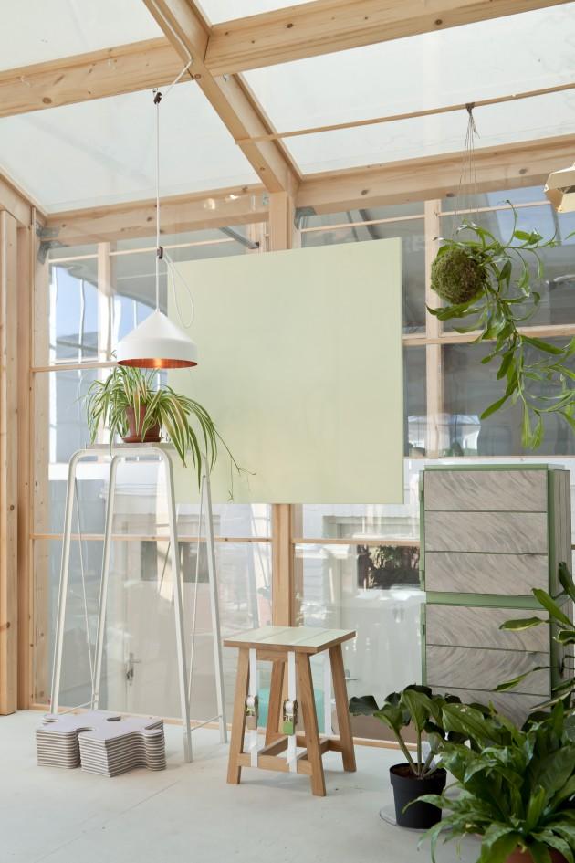 Llus lamp wit Ontwerpduo foto Vij5 greenhouse DDW