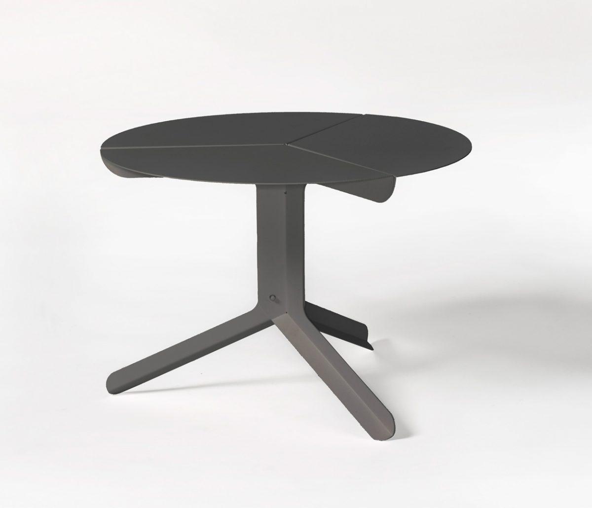 Frederik Roije for New Duivendrecht sliced table low bijzettafel zwart – gimmii shop Dutch design