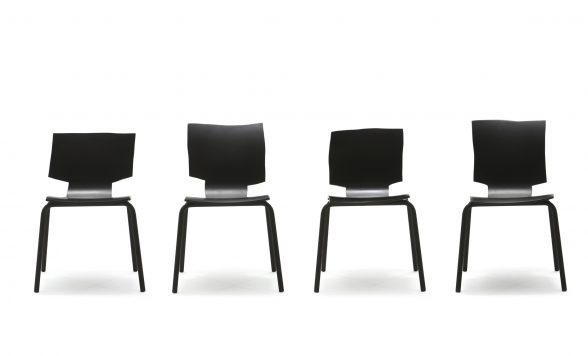 More or less stoelen (2, 4, 6 of 8 stuks)