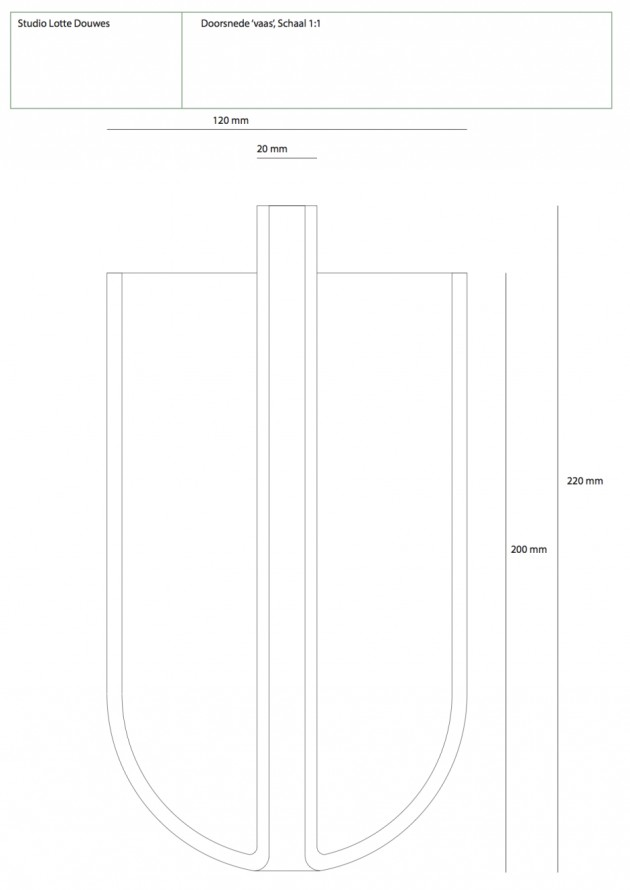 Home Accessories Vases Spatial Vase Lotte Douwes