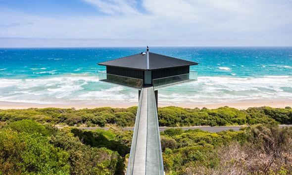 Zwevend huis Australie f2-architecture