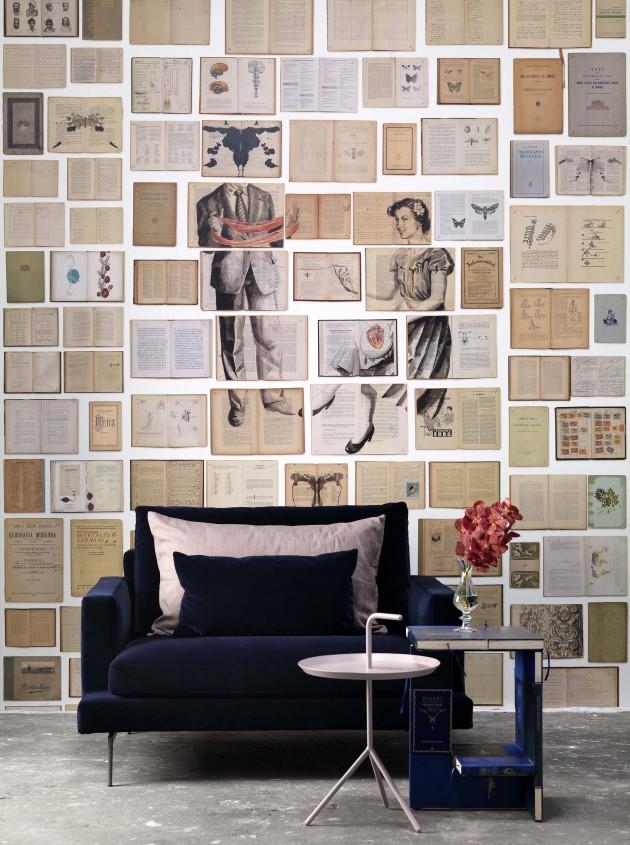 Behang biblioteca wallpaper NLXL Ekatherina Panikanova Scenography