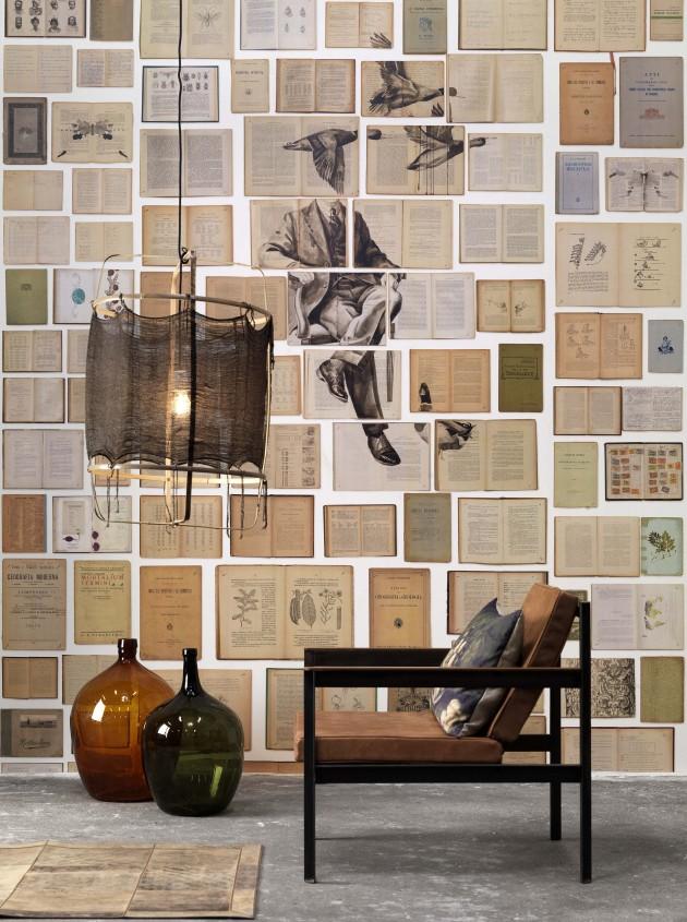 Biblioteca wallpaper NLXL Ekatherina Panikanova Scengraphy