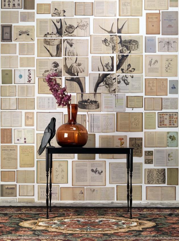 Biblioteca wallpaper behang NLXL Ekatherina Panikanova