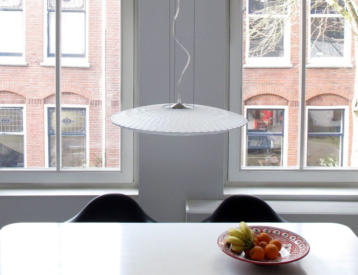 Disque lamp setting Marc Th. van der Voorn