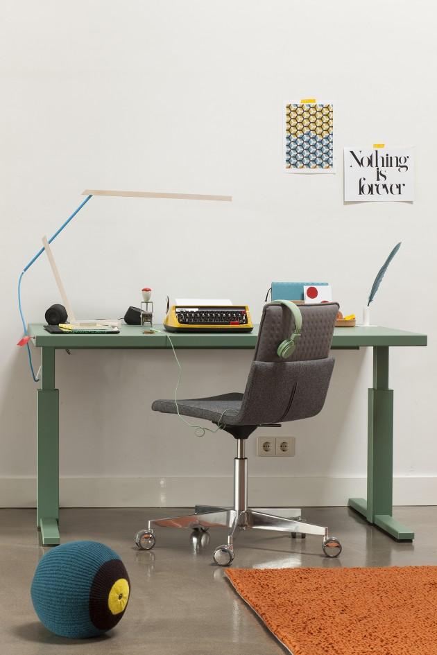 Gispen Amsterdam SteelTop desk bureau