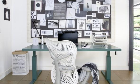 Gispen Huiswerk SteelTop desk bureau