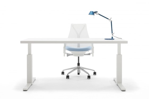 Gispen SteelTop werkplek, bureau