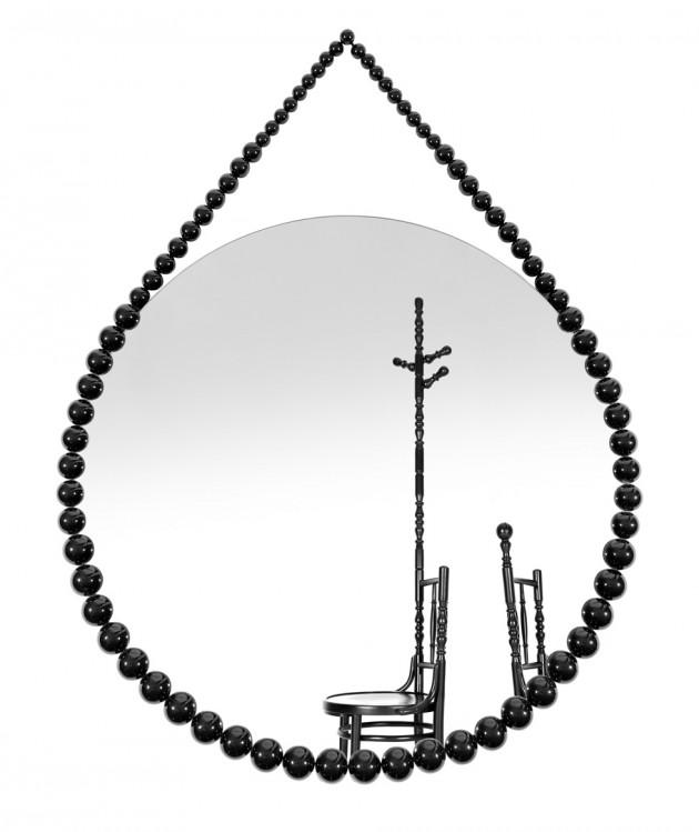 Bead Mirror van Sjoerd Vroonland