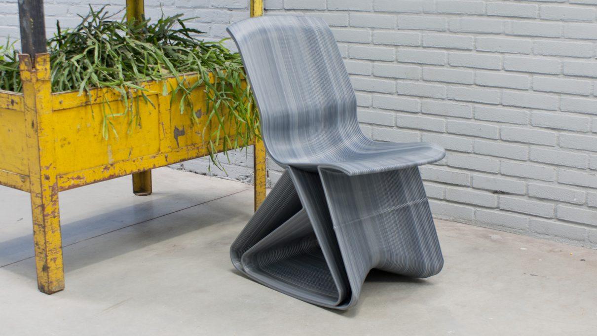 Flow rocking chairs van Dirk van der Kooij