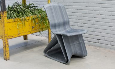 Flow rocking chairs van Dirk van der Kooij