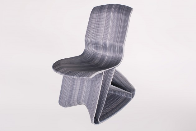 Flow rocking chair - ash grey - Dirk van der Kooij