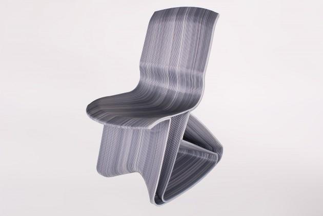 Flow rocking chair - ash grey - Dirk van der Kooij