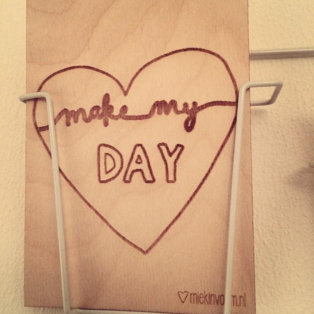 MIEKinvorm houten kaart hart
