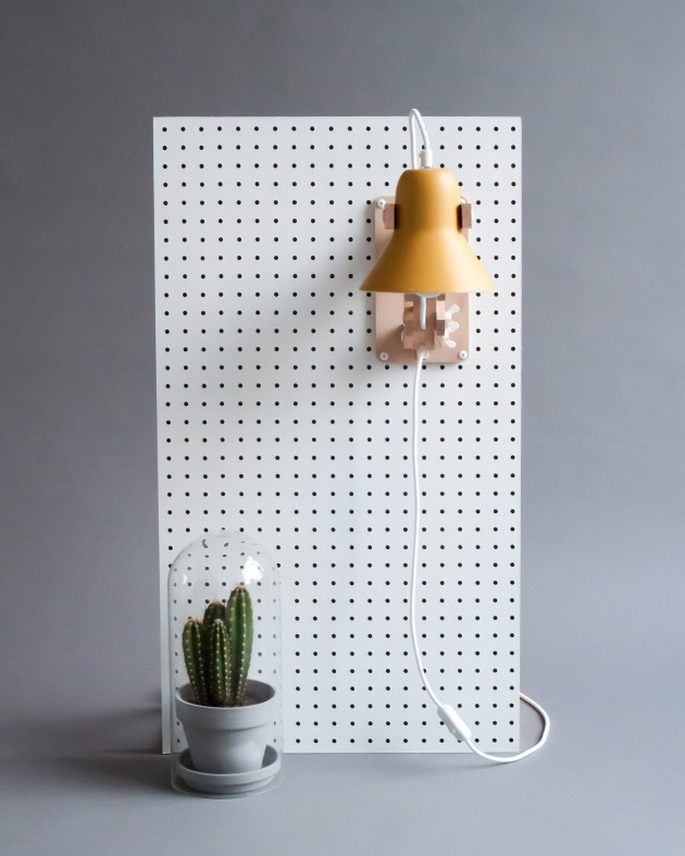 Pixoss lamp wandlamp M.OSS design wall lamp yellow