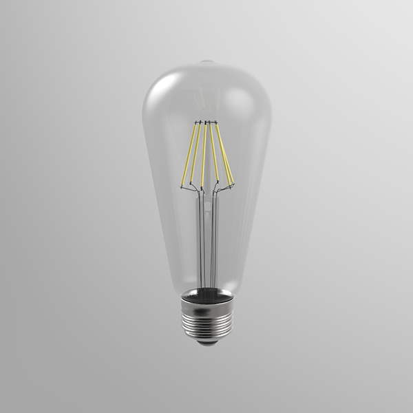 Led bulb SP64 by Moodmakers which gives warm light