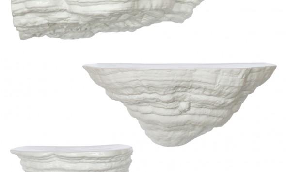 David Derksen - Boschroom wall consoles mushrooms wandelementen Elfenbankje