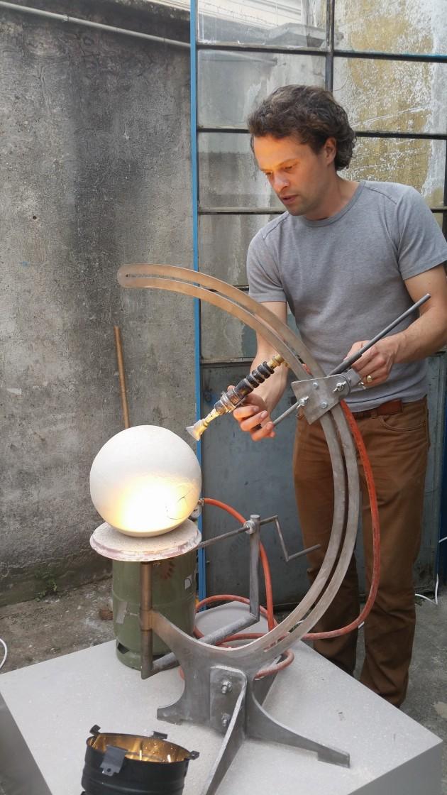 Floris Wubben Globe installatie Ventura Lambrate foto Nanda Rave Gimmii