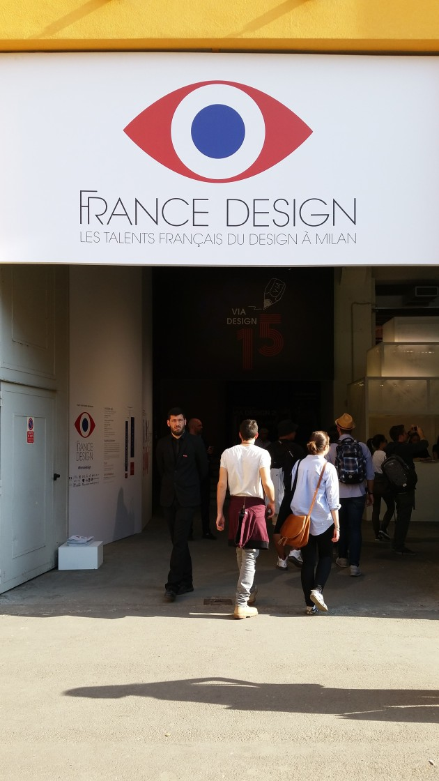 France Design Salone del Mobile 2015