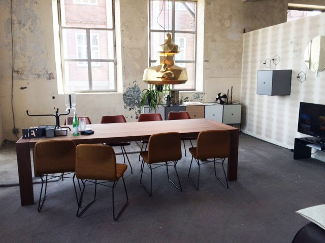 Helix lamp Marc de Groot photo tijdens Design on Stock Lisette Koster Gimmii