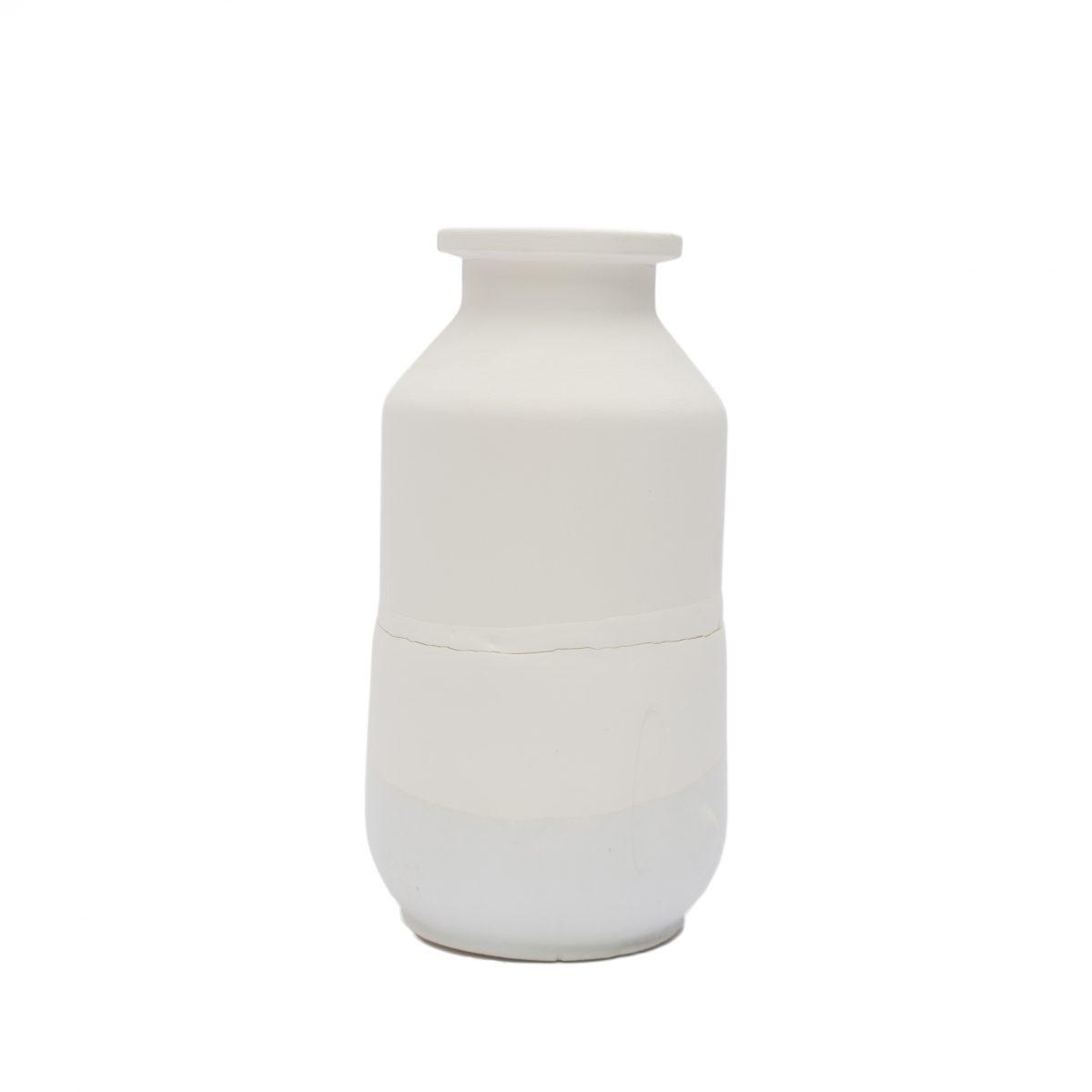 Jeroen Wand Plunge Vase Medium Wit Cor Unum