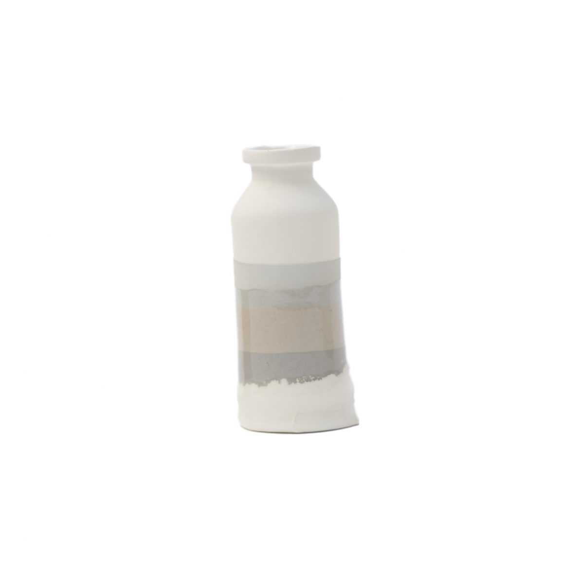 Jeroen Wand Plunge Vase Small Wit Cor Unum ceramics