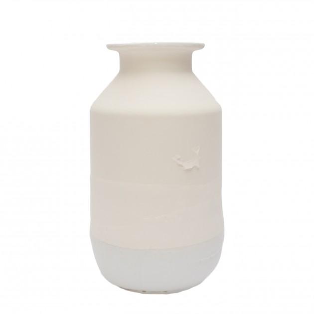 Jeroen Wand Plunge Vase Large Wit Cor Unum