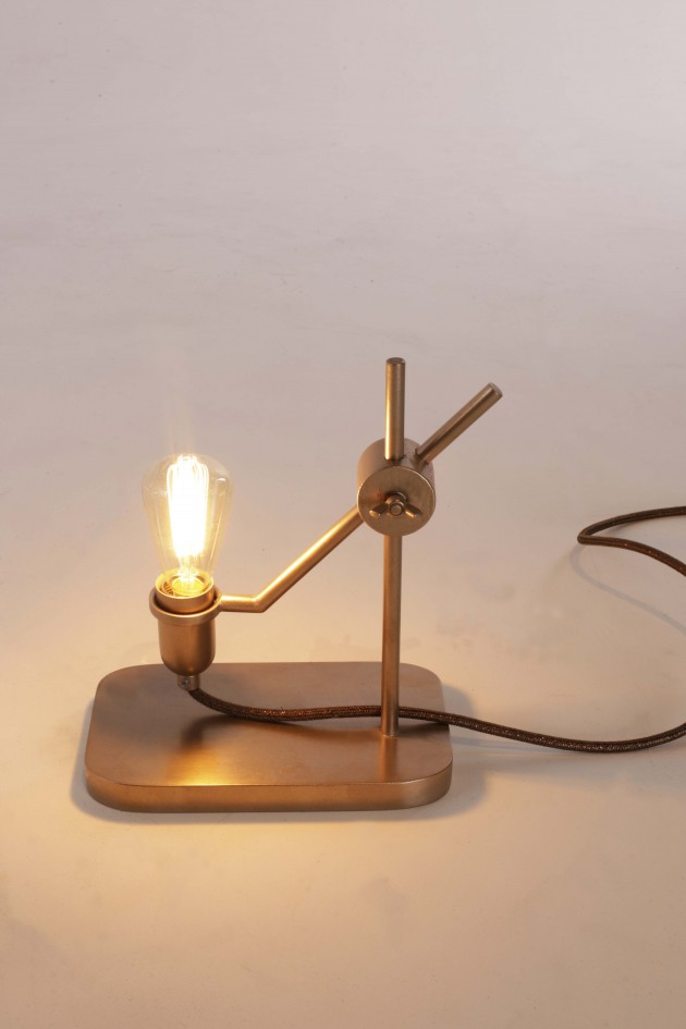 Lighten Up lamp Bronze Jolanda van Goor