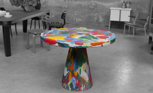 Melting Pot table