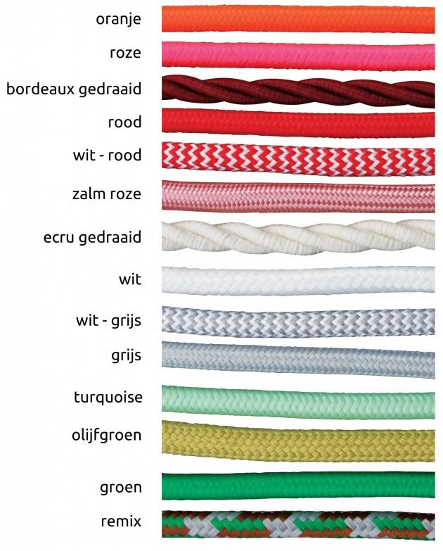 Moss design - kleuren snoer - Gimmii